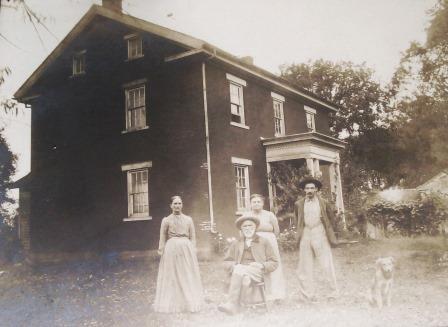 Mellinger House Historical Photo
