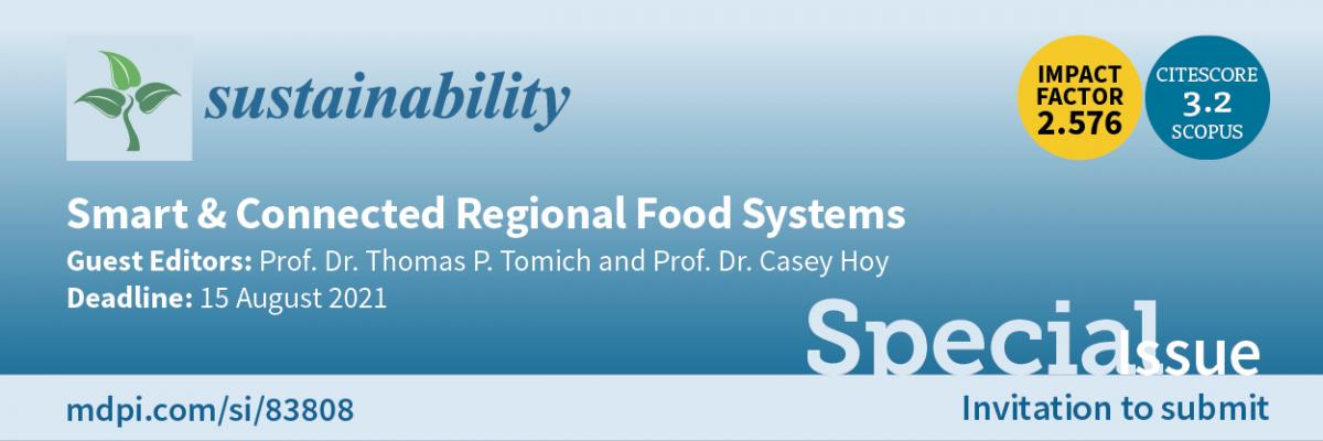 Smart & Connected Regional Food Systems